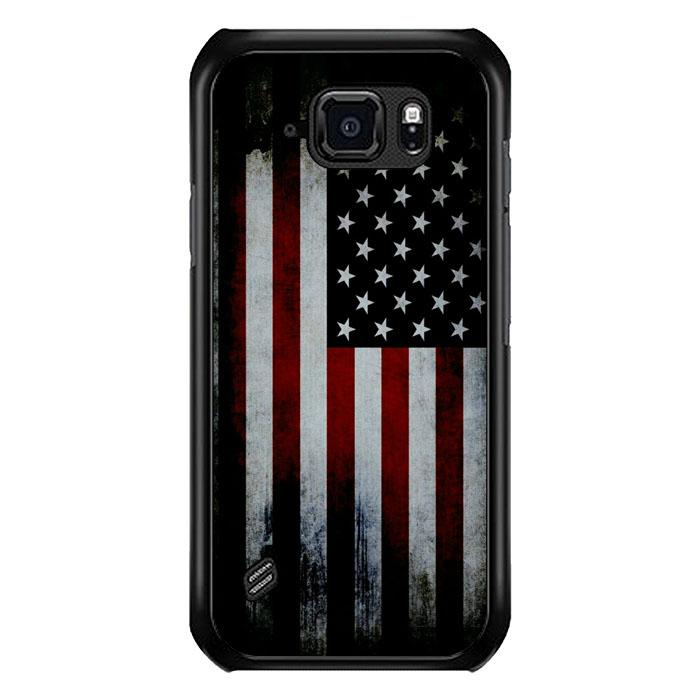coque custodia cover fundas hoesjes j3 J5 J6 s20 s10 s9 s8 s7 s6 s5 plus edge B9553 American Flag B0341 Samsung Galaxy S6 Active Case
