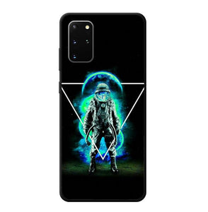 coque custodia cover fundas hoesjes j3 J5 J6 s20 s10 s9 s8 s7 s6 s5 plus edge B10309 Astronout B0504 Samsung Galaxy S20 Plus Case