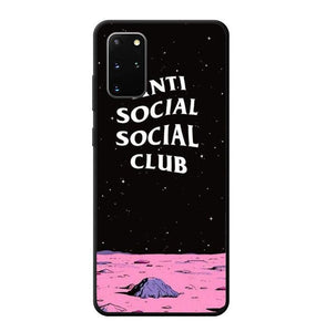 coque custodia cover fundas hoesjes j3 J5 J6 s20 s10 s9 s8 s7 s6 s5 plus edge B9913 Anti Social Club B0514 Samsung Galaxy S20 Plus Case