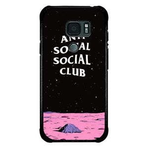 coque custodia cover fundas hoesjes j3 J5 J6 s20 s10 s9 s8 s7 s6 s5 plus edge B9903 Anti Social Club B0514 Samsung Galaxy S7 Active Case