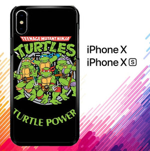 Teenage Mutant Ninja Turtles TMNT Heroes Cartoon F0230 custodia iPhone X, XS