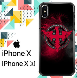 30 Seconds To Mars custodia iPhone X, XS