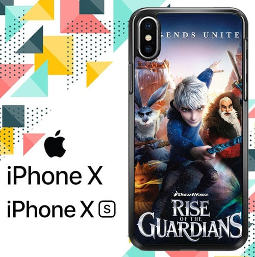 Rise of the guardians Z0113 custodia iPhone X, XS