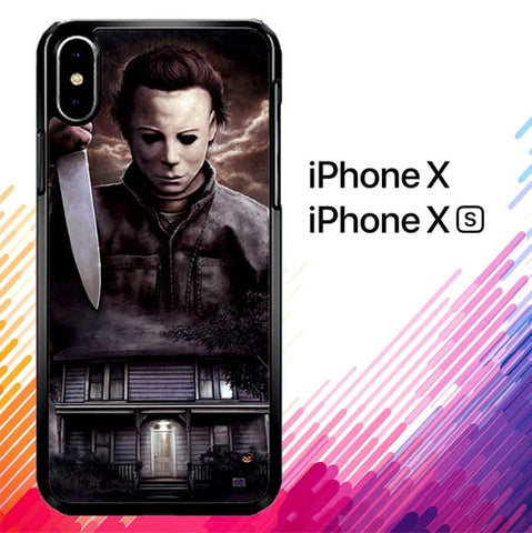Michael Myers Halloween Z1319 custodia iPhone X, XS