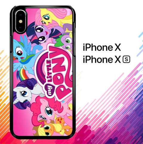 MY LITTLE PONY Z1358 custodia iPhone X, XS