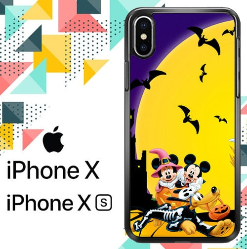 Disney Halloween Z1362 custodia iPhone X, XS