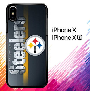 Pittsburgh Steelers Z3159 custodia iPhone X, XS