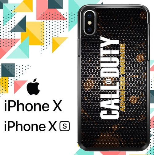 Call of Duty Advanced Warfare Z4702 custodia iPhone X, XS