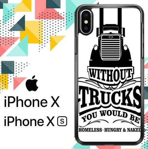 Without truck Z4996 custodia iPhone X, XS
