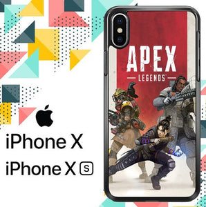 apex legends Z4202 custodia iPhone X, XS