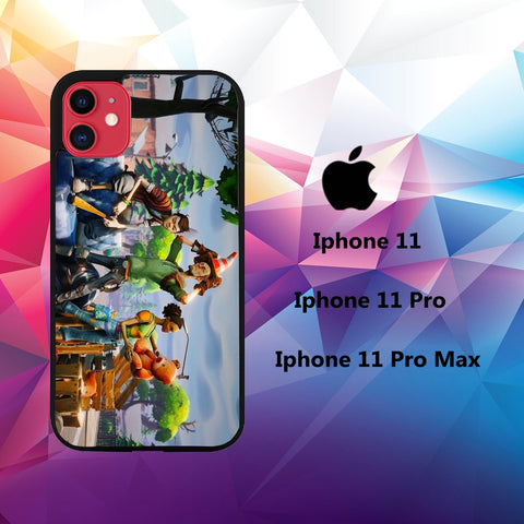 cover custodia case iphone 11 G9133 fortnite wallpaper 32fX1