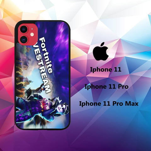 cover custodia case iphone 11 P6762 fortnite wallpaper 32lT6