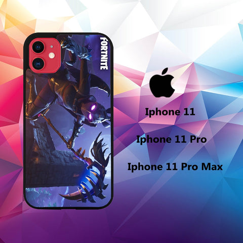 cover custodia case iphone 11 W7253 fortnite wallpaper 32zC4