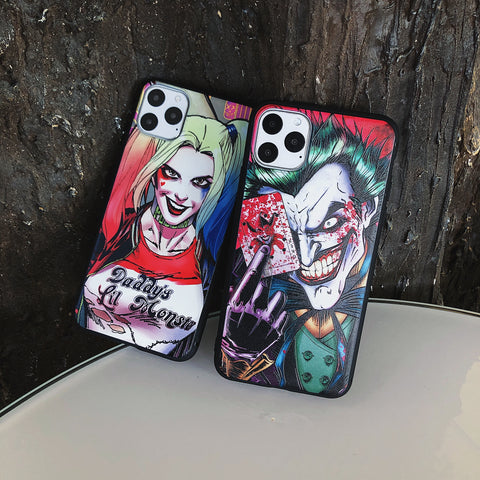 cover iphone 11 harley quinn and joker
