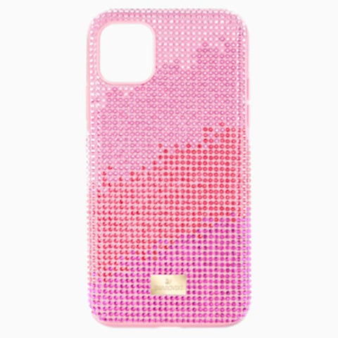 cover iphone 11 rose violette