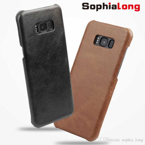 custodia in pelle samsung s8 plus