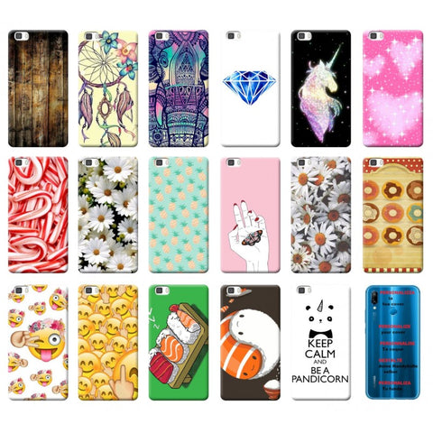 Cover custodia per HUAWEI P20 P10 P9 P8 lite smart plus 2015 2017 morbida  tpu 7
