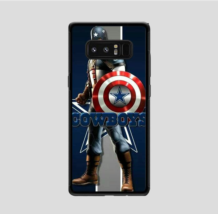 coque custodia cover fundas hoesjes j3 J5 J6 s20 s10 s9 s8 s7 s6 s5 plus edge B9519 America Team Dallas Cowboys FJ0707 Samsung Galaxy Note 8 Case