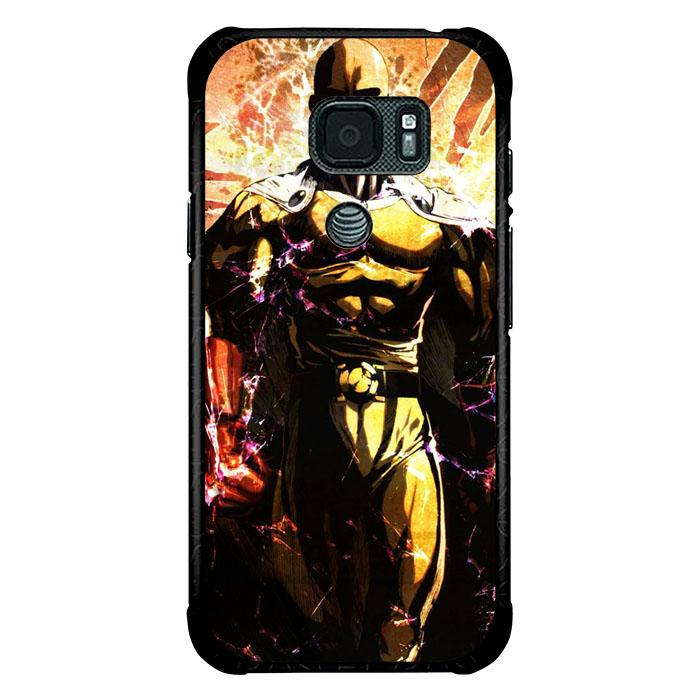 coque custodia cover fundas hoesjes j3 J5 J6 s20 s10 s9 s8 s7 s6 s5 plus edge B9766 Anime One Punch Man FJ0810 Samsung Galaxy S7 Active Case