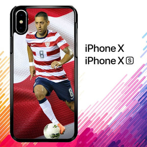 Clint Dempsey X5758 custodia iPhone X, XS