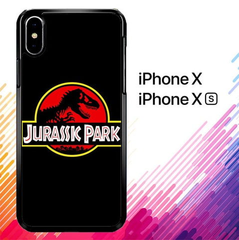 Jurassic Park Movie Plate vintage 4 Y0009  custodia iPhone X, XS