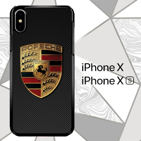 porsche W8814 custodia iPhone X, XS