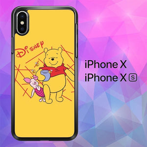whinnie the pooh W9009 custodia iPhone X, XS