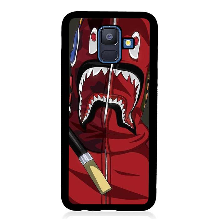 coque custodia cover fundas hoesjes j3 J5 J6 s20 s10 s9 s8 s7 s6 s5 plus edge B11335 BAPE SHARK J0286 Samsung Galaxy A6 2018 Case