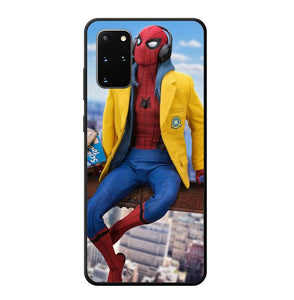coque custodia cover fundas hoesjes j3 J5 J6 s20 s10 s9 s8 s7 s6 s5 plus edge B9502 Amazing Spiderman J0684 Samsung Galaxy S20 Plus Case