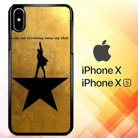 Hamilton E0186 custodia iPhone X, XS