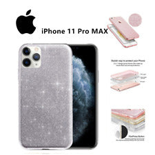 Ostop Cover iPhone XS Max Brillante Diamante Trucco Specchio Custodia  (m6U)