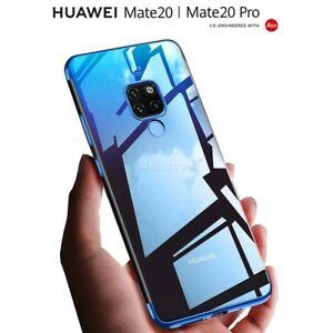 COVER per Huawei Mate 20 Lite CUSTODIA ORIGINALE ELECTROPLATING Slim TPU  Case