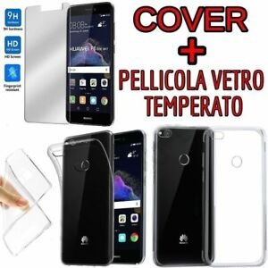COVER + PELLICOLA VETRO TEMPERATO PER HUAWEI GOOGLE NEXUS 6P CUSTODIA CASE  GLASS