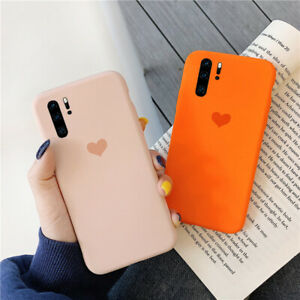 Pure Color Cover For Huawei Mate 20 Lite P30 Pro P Smart 2019 Soft Matte  Case
