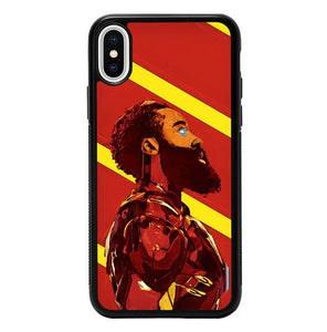 Iron Ferrari Logo P1584 custodia iPhone X, XS