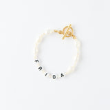 Customized Classic Letter Bracelet
