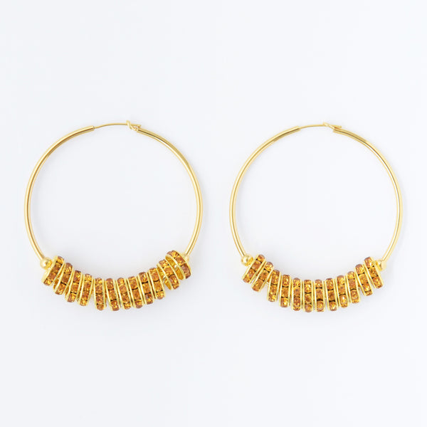 Julia Giallo Hoops