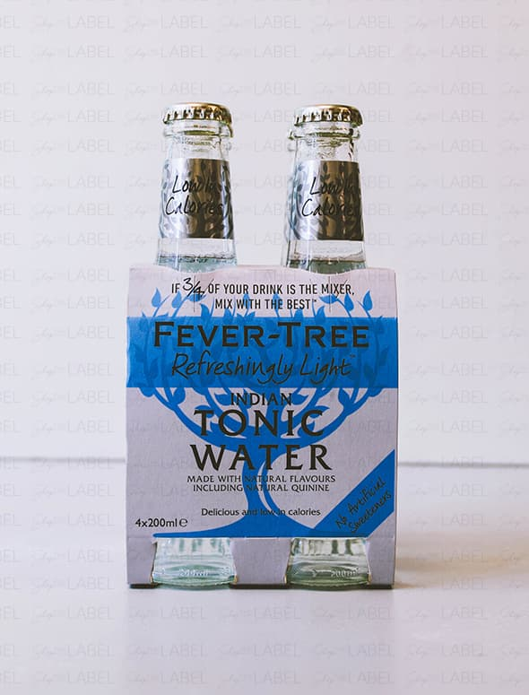 4-Pack Agua Tónica Fever Tree Light Indian Tonic Water