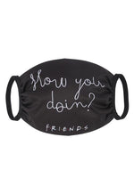 Cargar imagen en el visor de la galería, The Brands Club - Mascarilla How You Doin? Friends