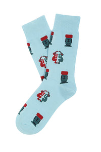 Socks Lab - Calcetines Moai