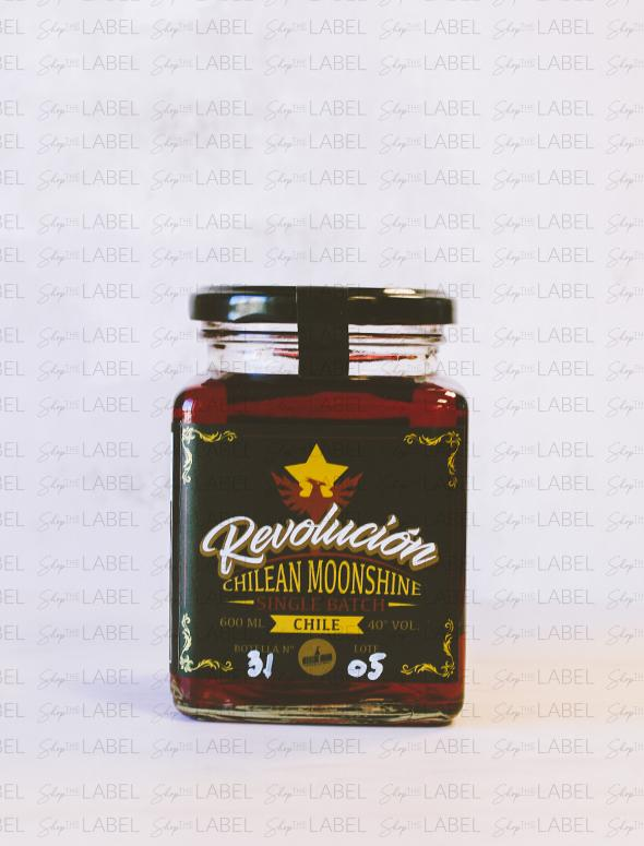 Whisky Revolución Chilean Moonshine: Berries