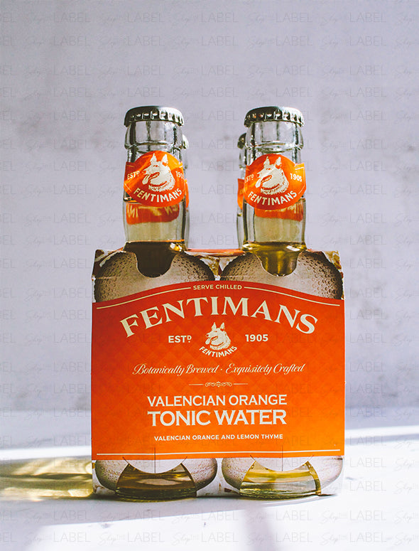 4 Pack Agua Tónica Fentimans Valencian Orange
