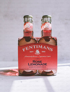 4-Pack Agua Tónica Rose Lemonade Fentimans