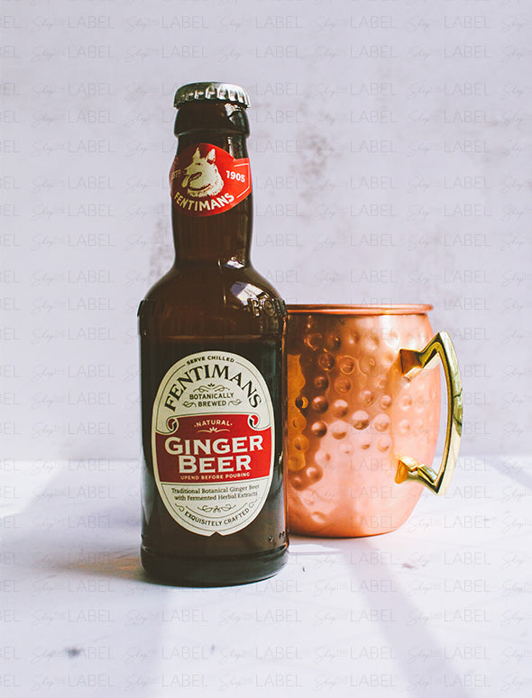 Ginger Beer Fentimans y un mug de London Mule