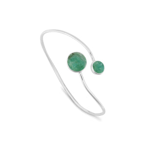 Dream Amazonite Split Bangle
