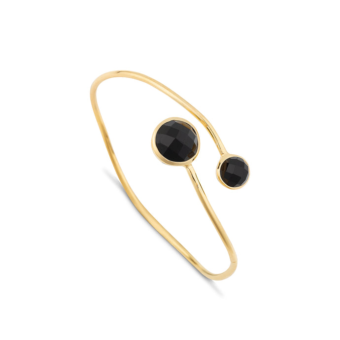 Dream Black Onyx Split Bangle