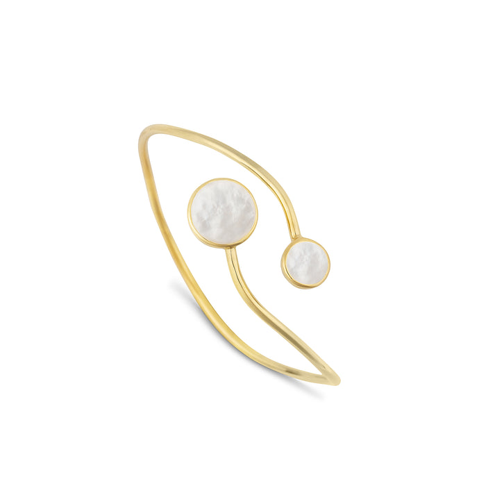 Dream Mother of Pearl Split Bangle