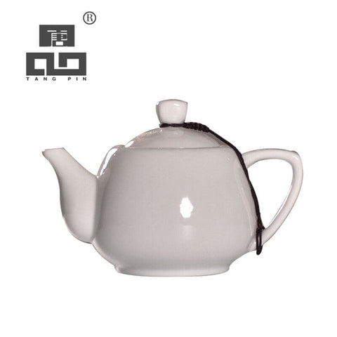 TANGPIN white chinese ceramic teapot tea pot kung fu sets