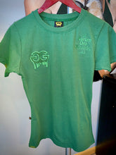 Load image into Gallery viewer, Green Gold Girls Drip Tee