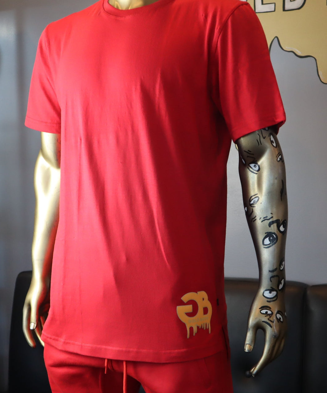 Red Live Gold T-shirt